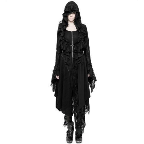Gothic Decadent women's Short Coat