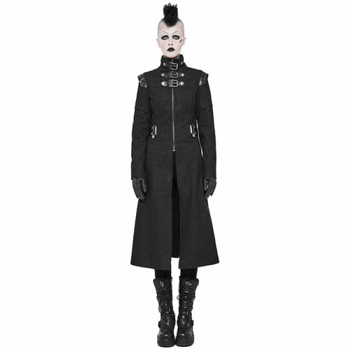 Punk Handsome Military women's Jacket