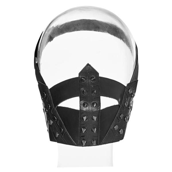 Punk Men's pu leather Masks