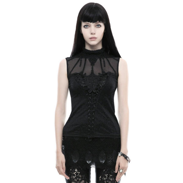 Gothic Gorgeous Sleeveless Women's T-shirt