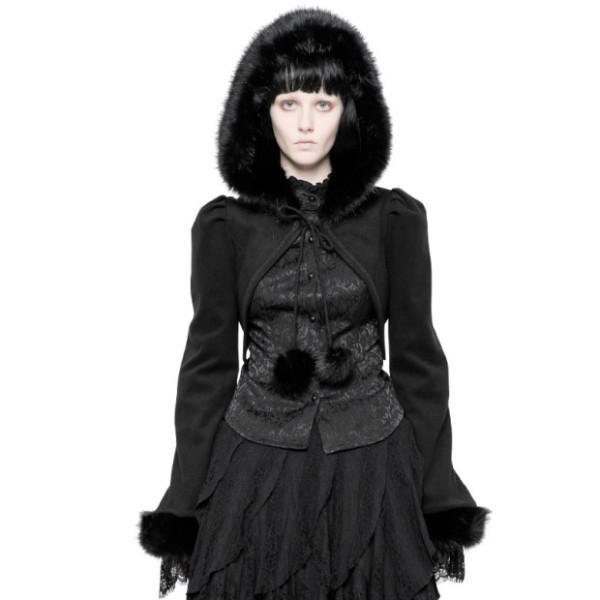 Lolita Imitation Rabbit Hair Short Coat
