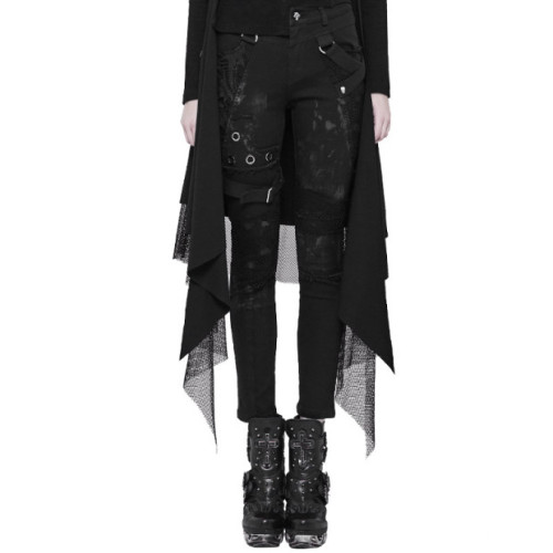 Punk Personality Dilapidated women's Trousers