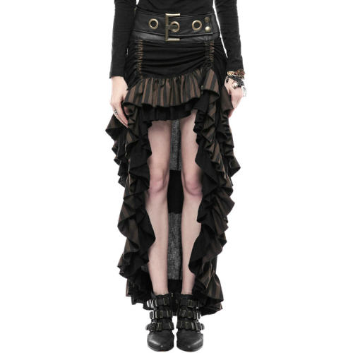 Steam Punk Layered Women's Skirt