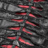 Gothic Keel denim fabric Men's Shirt
