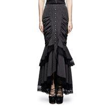 Steampunk full-skirted fishtail Women's skirt