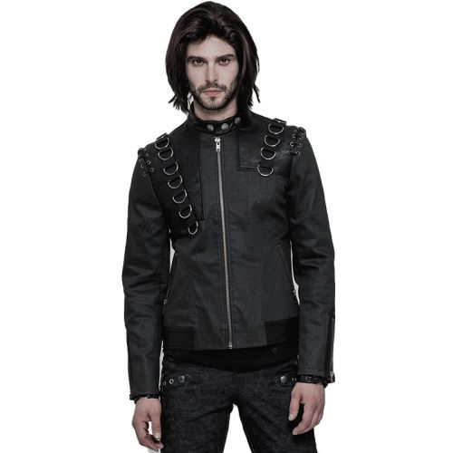 Punk Short Men's Jacket