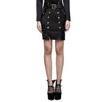 Punk Military Uniform comfortable Women's Half Skirt
