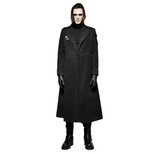 Punk Uniform contracted wind Men's Coat