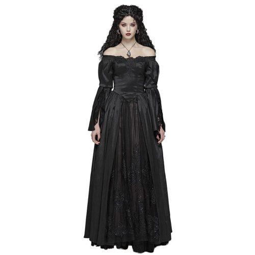 Gothic Victorian Slim fit Lace Women's Dresses