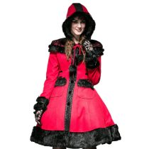 Pyon Pyon Red Women's Coat