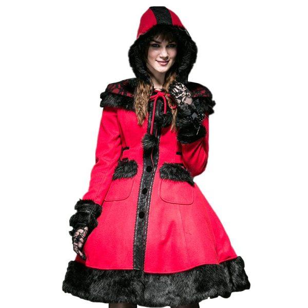 Pyon Pyon Red Women's Coat