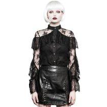 Nu Gothic Lace Chiffon Women's  sexy Shirt
