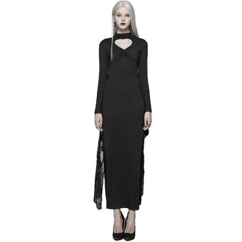 Nu Gothic Kimono Sleeve Maxi Women's Dress