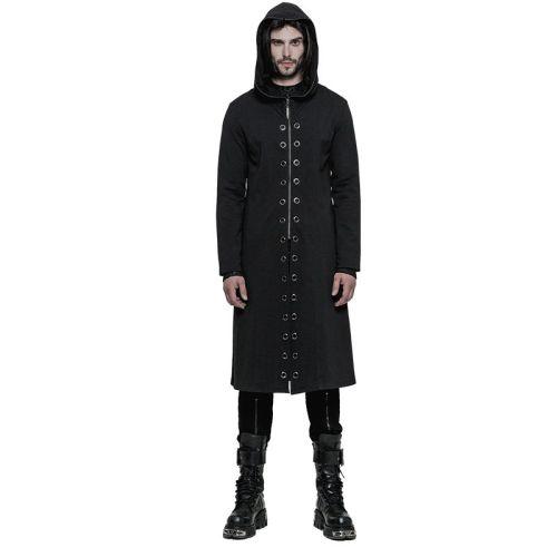 Punk Split Men's Long Coat