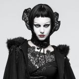 Gothic Queen Positioning Lace Scarf