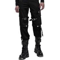 Punk Handsome detachable Uniform Men's Trousers