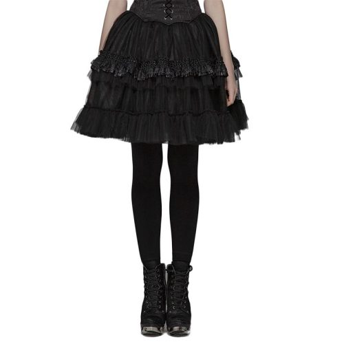 Lolita Short Lace women's Half Skirt