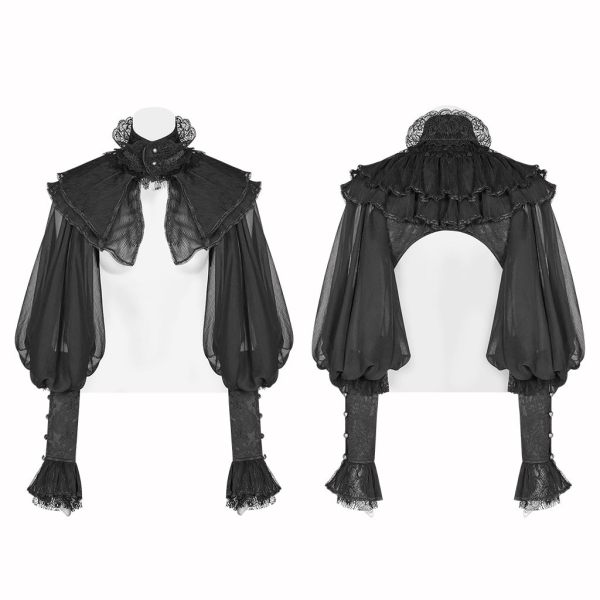 Lolita Puff Sleeve Lace women's Jacket