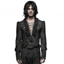 Gorgeous Gothic bubble men's blouse