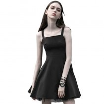 Punk Tie Rope Design A pendulum Women's Dress