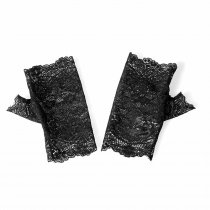 Lolita Black Lace Gloves For Girls