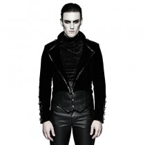 Gothic Military Uniform Gorgeous Swallow-tail Dress Jacket