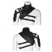 Mechanical steampunk accessory Shawl collar