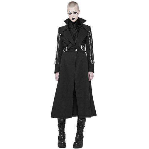 Punk Handsome  women's Long Coat