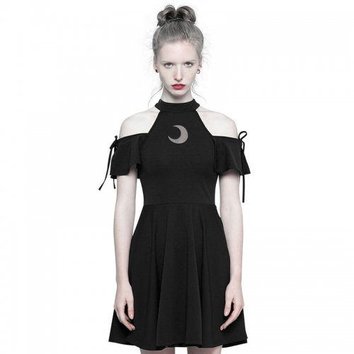Gothic Astrology Series Strapless Women's Dress