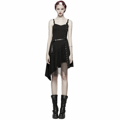 Daily Punk Mesh women's Dress