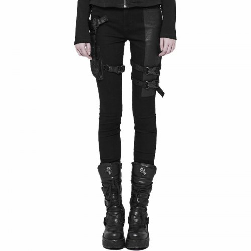 Futuristic Punk Tight women's Trousers