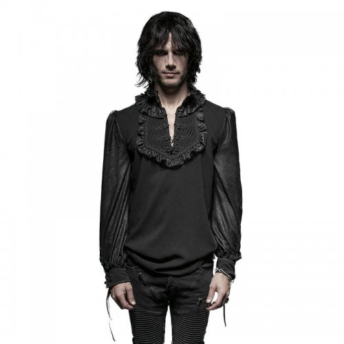 Daily Gothic plate buttons Men's Shirts