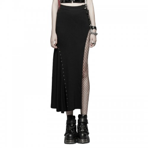 Punk Sexy Slim Fit Women's Half Skirt