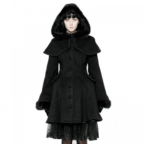 Lolita Medium-length Swallow Tail Dress Coat