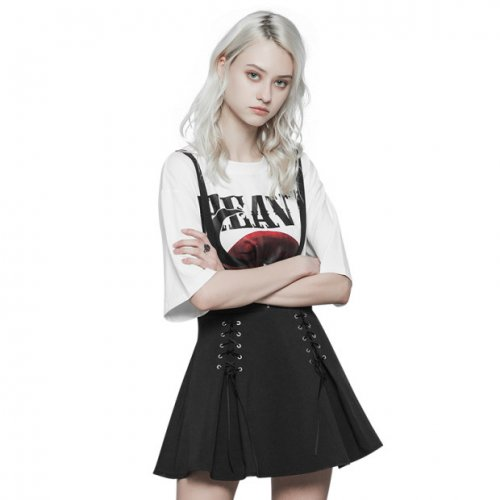 Punk Corn Bandage Overalls Women's skirt
