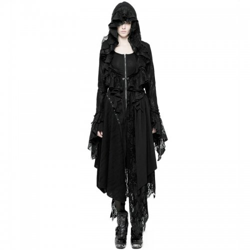 Gothic Decadent women's Short Coat