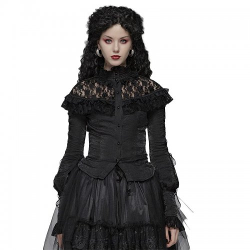 Lolita lace Long Sleeve Shirt women