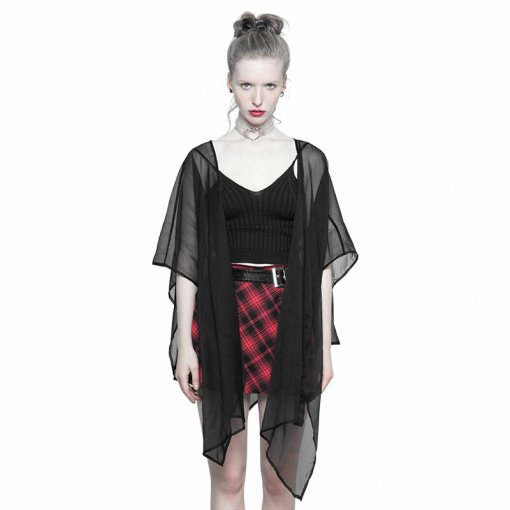 Gothic Chiffon multi-use Shawl suntan-proof wear