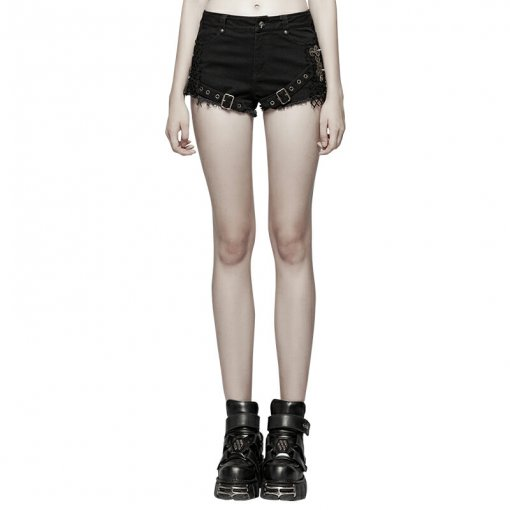 Steampunk Mesh Women's ultra-shorts