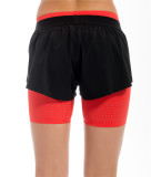 Yunfeng Flame Red Double Shorts