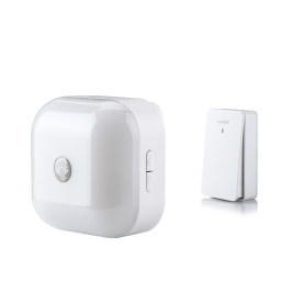 Wireless Door Bell with Smart Touch LED Night Light
