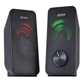Computer Speakers, Desktop Stereo Line-in Laptop Speaker with AUX Mode Multimedia Speaker,Mini Sound bar Speaker