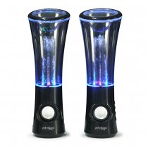 Wireless Bluetooth 2.0 Channel Trumpeter Water Dancing Speaker with LED Light Show