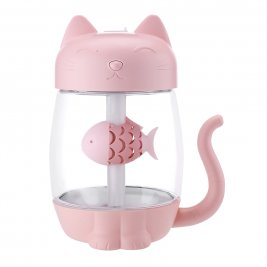 3-in-1 USB 2.0 Kitty Air Humidifier, Light and Fan