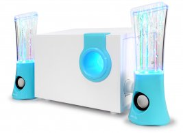 3D LED Flash Lights 2.1 Channel Water Dancing Speakers with Subwoofer