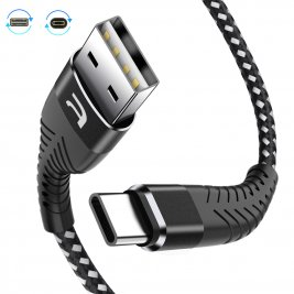 Reversible Fast Charge/Sync Cable UBS to TypeC