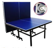 ITTF approved official folded moveable table tennis pingpong table for international tournament