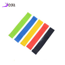 Wholesale 5 levels latex yoga resistance band, yoga tension band