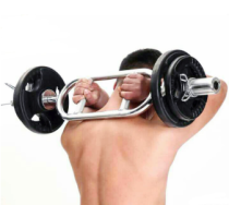 Barbell Tricep bar Chrome Triceps Weighted Bar