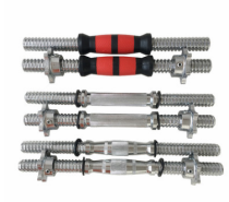 Hot sale chrome dumbbell bar and weights lifting dumbbell handle
